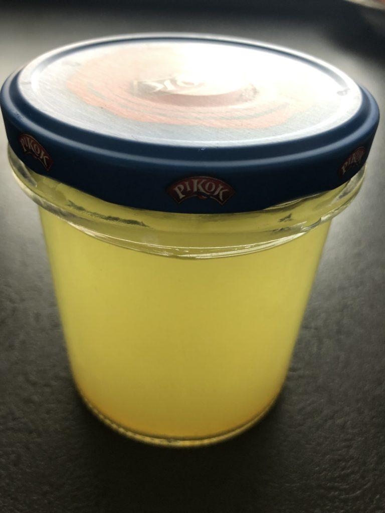 rýmovníková mast ve skleničce s víčkem