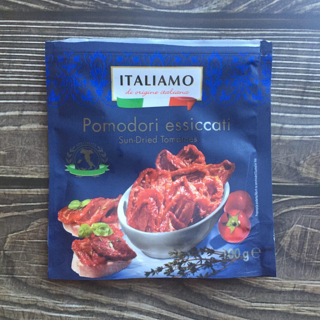 sušená rajčata Lidl Italiamo